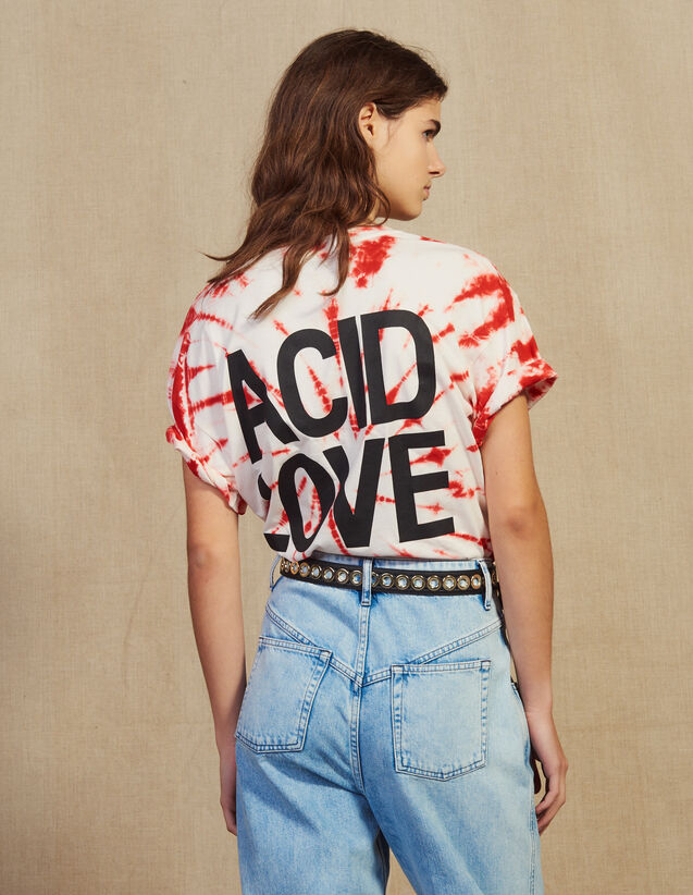 Camiseta Tie And Dye : null color Rojo
