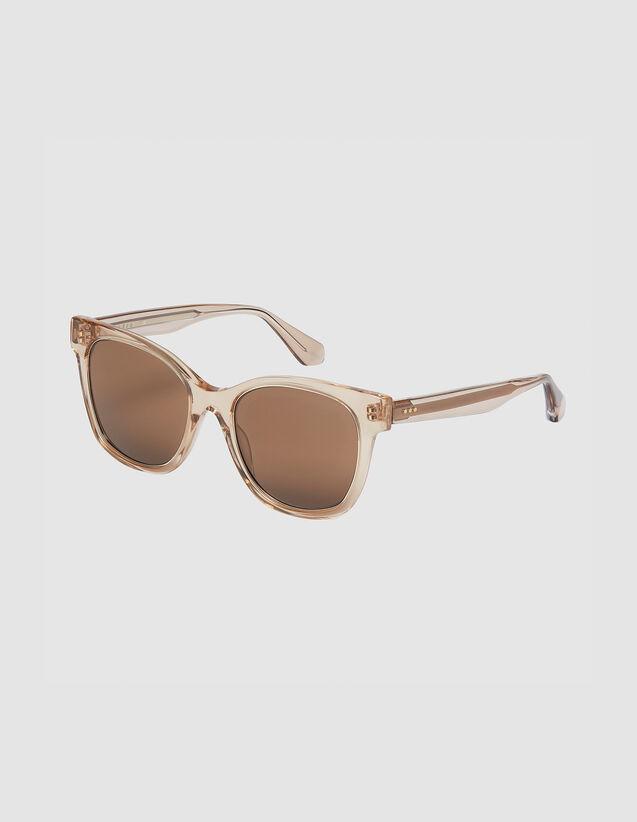 Gafas Oversize : Gafas de sol color Tabaco