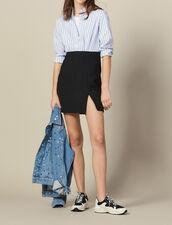 Vestido Efecto Trampantojo : FBlackFriday-FR-FSelection-40 color Ciel