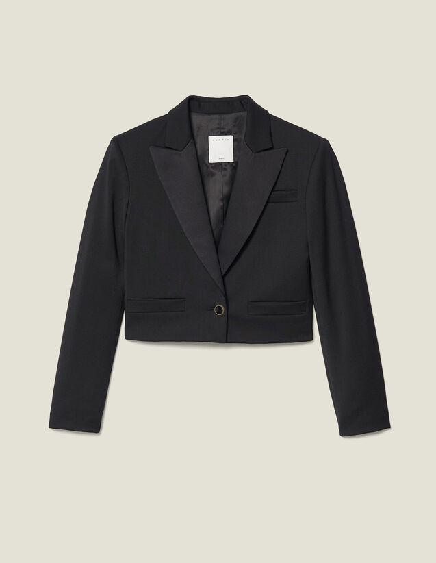 Blazer Corta : FBlackFriday-FR-FSelection-Blousons&Manteaux color Negro