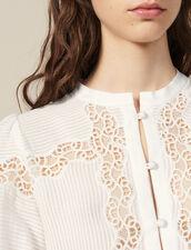 Camisa De Juego De Encajes : LastChance-FR-FSelection color Crudo