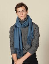 Bufanda de lana y cachemira : Bufandas color Sky Blue