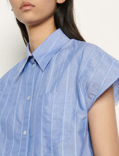 Camisa oversize sin mangas : Tops & Camisas color Azul