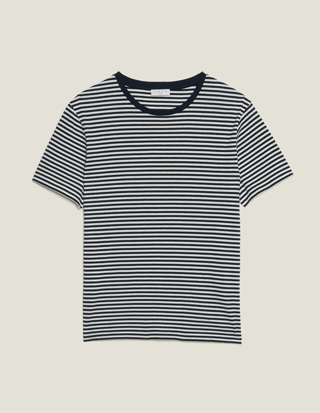 Camiseta Marinera : Camisetas & Polos color Marino/Blanco