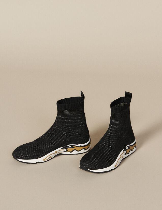 Deportivas Calcetín Flame : Todos Zapatos color Negro/dorado