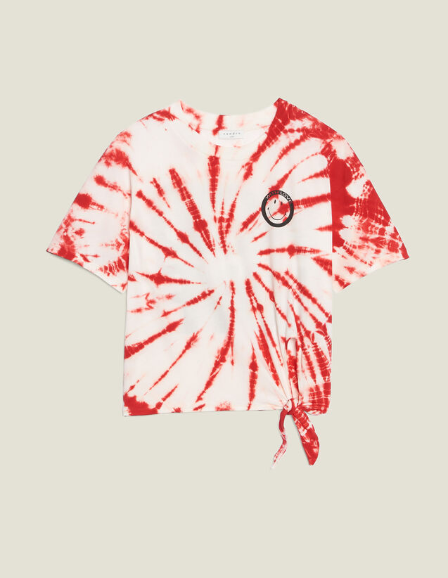 Camiseta Tie And Dye : LastChance-FR-FSelection color Rojo