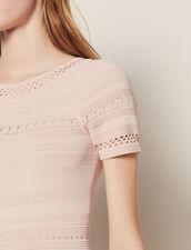 Vestido Semilargo De Punto : Vestidos color Rosa