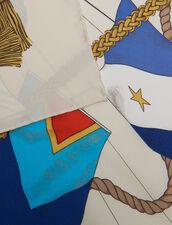 Fular De Seda Estampada : null color Multicolor