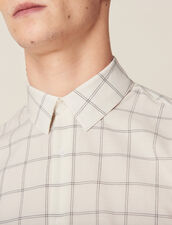 Camisa De Algodón Fino : Sélection Last Chance color Crudo