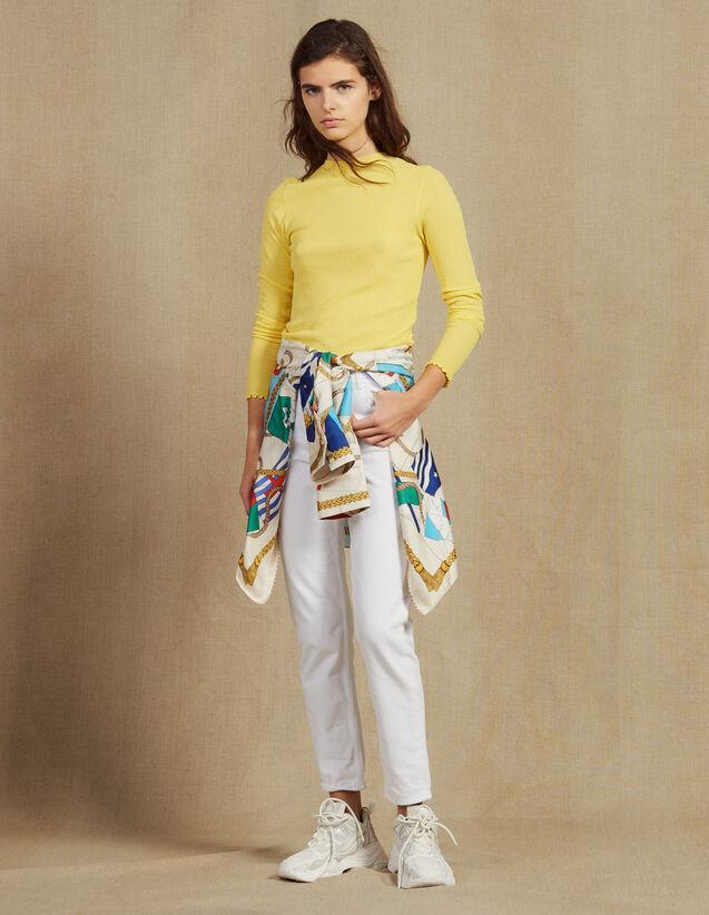 Jersey De Punto Fino : Jerseys & Cárdigans color Amarillo