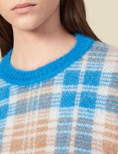 Jersey de efecto pelito de jacquard : Jerseys & Cárdigans color Ciel