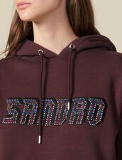 Sudadera con inscripción Sandro : FBlackFriday-FR-FSelection-30 color Gris