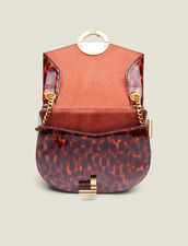 Bolso Pépita Pequeño De Piel De Charol : FBlackFriday-FR-FSelection-Sacs color Leopard orange
