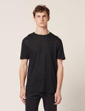 Camiseta de lino : Camisetas & Polos color Marino