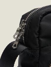 Bolso Besace De Nailon Acolchado : Toda la Marroquinería color Negro